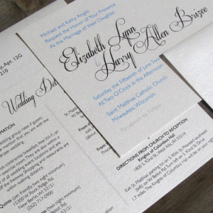 Brizee Wedding Invitation